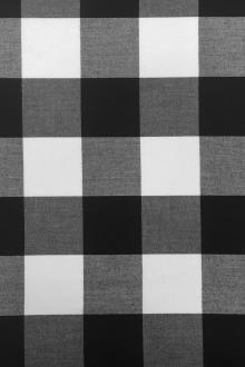 Carolina Cotton Gingham in Black0