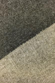 Italian Wool Doubleface Coating in Taupe and Beige0