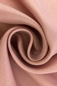 Metallic Polyester Twill in Pink0