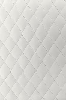 Quilted Matte Vinyl in Off White0