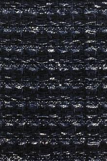 Lesage Cotton Blend Tweed in Navy0