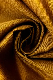 Silk and Wool Shantung in Goldenrod0