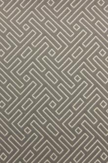 Cotton Blend Upholstery Labyrinth Brocade 0