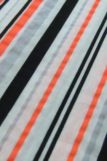 Japanese Cotton Neon Stripe 0