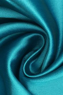 Silk and Polyester Zibeline in Turquoise0