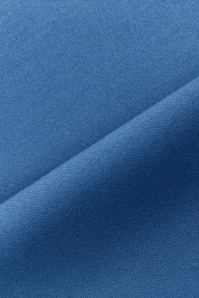 Italian Wool Satin Faille in Astral Blue0