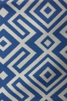 Upholstery Woven Geometric Print0