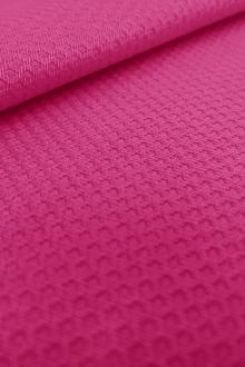 Italian Cotton Lycra Pique in Pink0