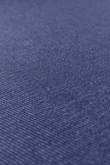 Japanese Cotton Blend Denim in Ultra Marine0