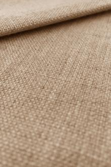 Linen Like Polyester in Natural0
