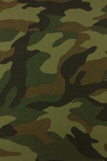 Japanese Camouflage Cotton Ripstop 0