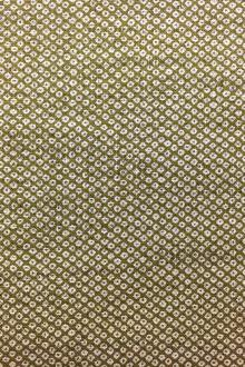 Japanese Textured Cotton Print in Olive0