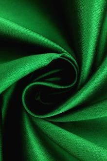 Silk and Polyester Zibeline in Kelly Green0