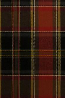 Heavy Woven Cotton Plaid0