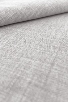 Rayon Challis in Light Grey0