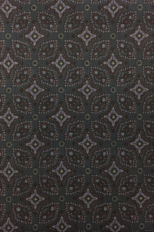 Japanese Cotton Broadcloth Ornamental Print 0