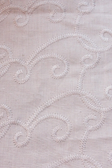 Embroidered Linen0