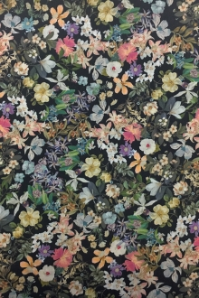 Japanese Cotton Lawn Digital Floral Print 0