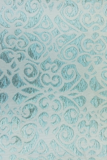 Metallic Jacquard Brocade with Ornate Patterns0