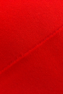 Designer Doublefaced Cashmere Wool Coating in Red0