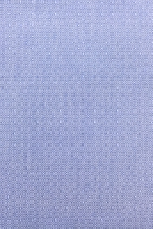 Cotton Oxford Dobby Shirting in Blue0