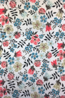 Liberty of London Linen Floral Print0