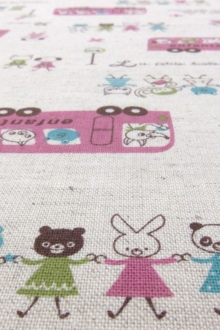 Japanese Cotton Linen Print2