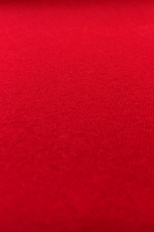 Cotton Flannel in Rich Red0