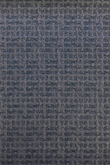 Wool and Nylon Lurex Tweed in Powder Blue0