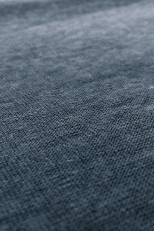 Hemp and Organic Cotton Jersey in Indigo0