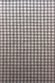 Italian Virgin Wool Stretch Tattersall Plaid Flannel0