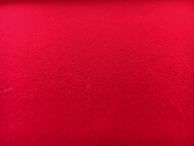 Cotton Flannel in Ruby Red0