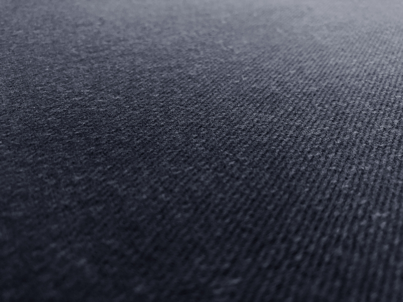 12oz Brushed Cotton Denim in Navy0