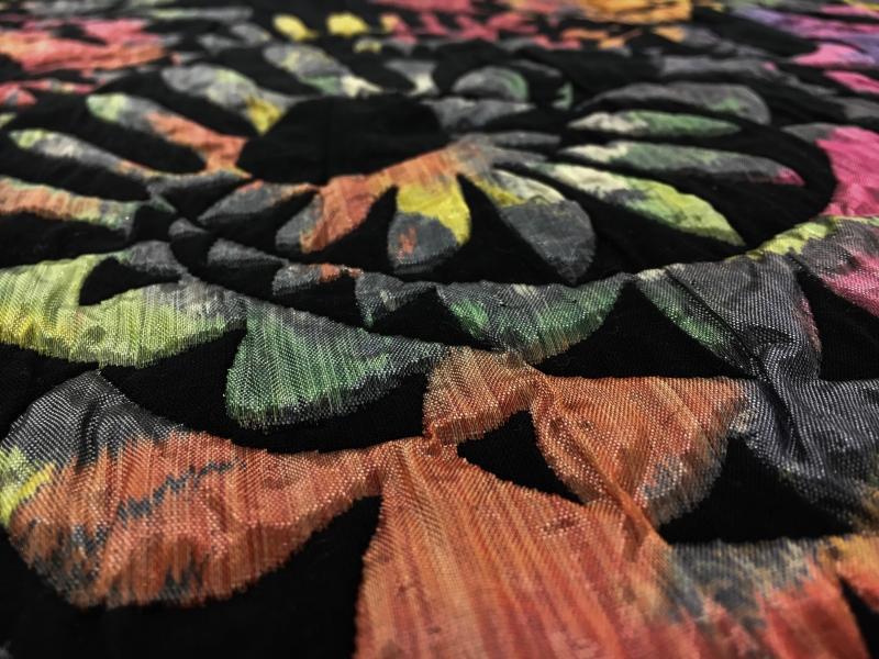 Abstract Metallic Cloqu 233 Brocade B Amp J Fabrics