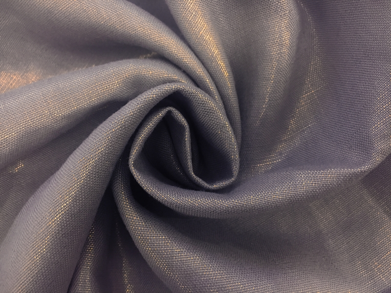 Metallic Linen in Gold and Pewter1