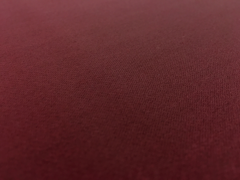 Italian Wool Satin Faille in Burgundy2