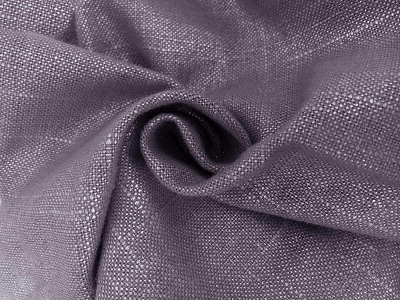 Metallic Linen Cotton Blend in Eclipse1