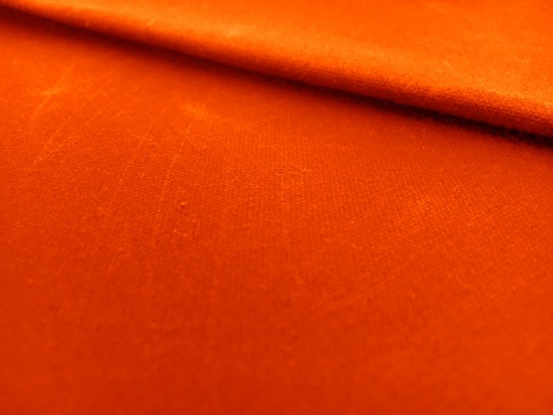 Oilcloth in Hunter Orange0
