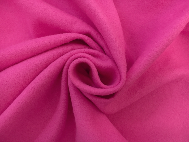 Cotton Flannel in Hot Pink1