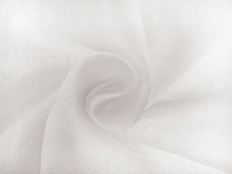Irish Handkerchief Linen in White1