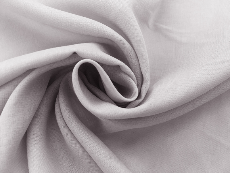 Japanese Cotton Voile in Thistle1