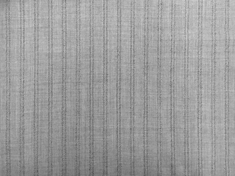 REDUCED Wool and Lurex Stripe in Grey0