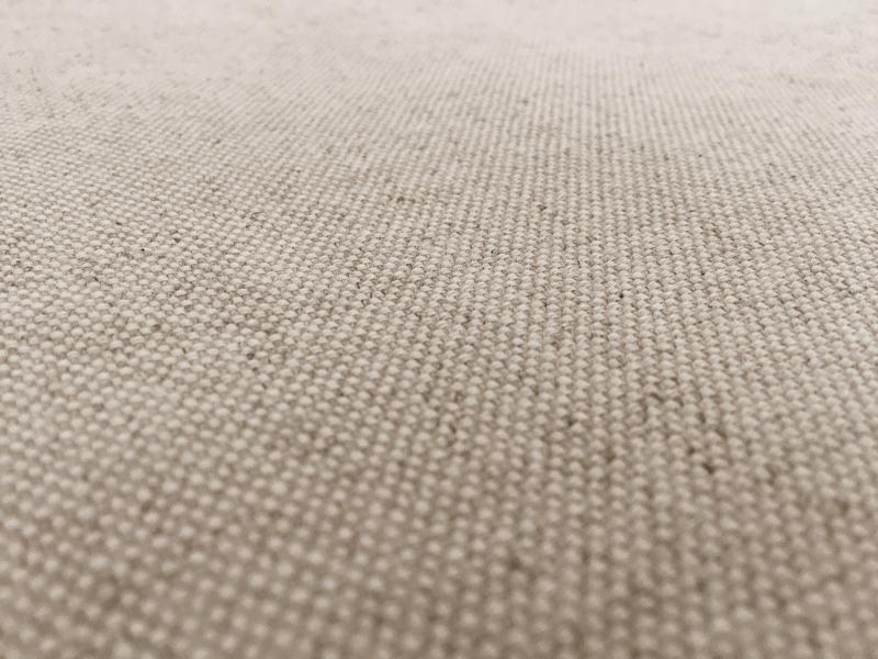 Tumbled Linen Cotton Upholstery In Oatmeal B J Fabrics