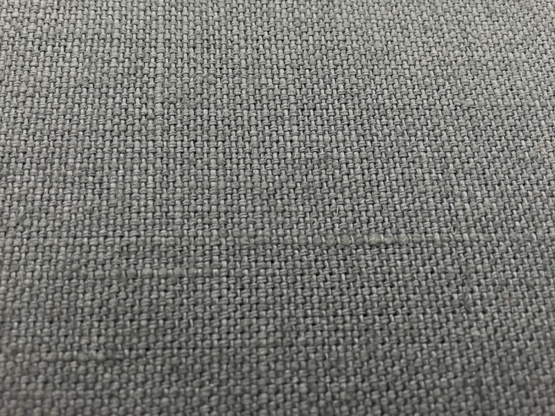 Linen Upholstery In Light Grey B J