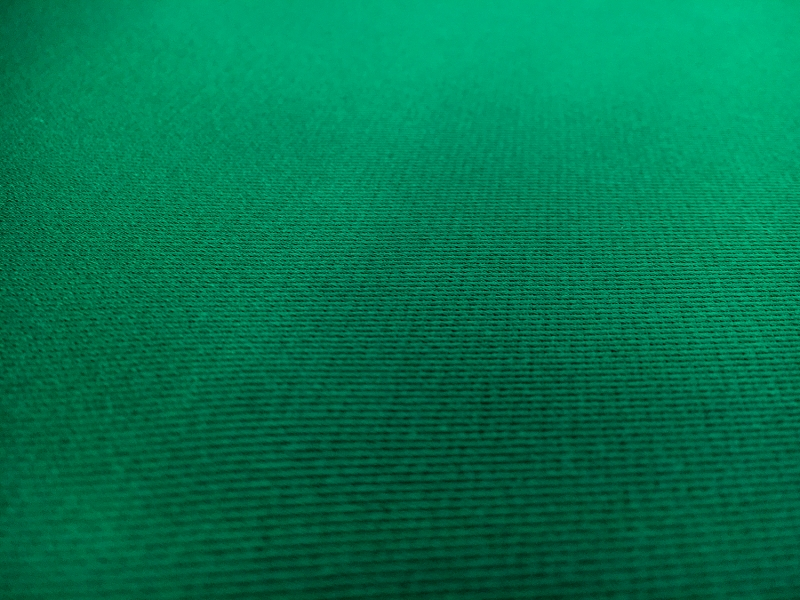 Double Face Twill Back Silk Satin in Emerald3