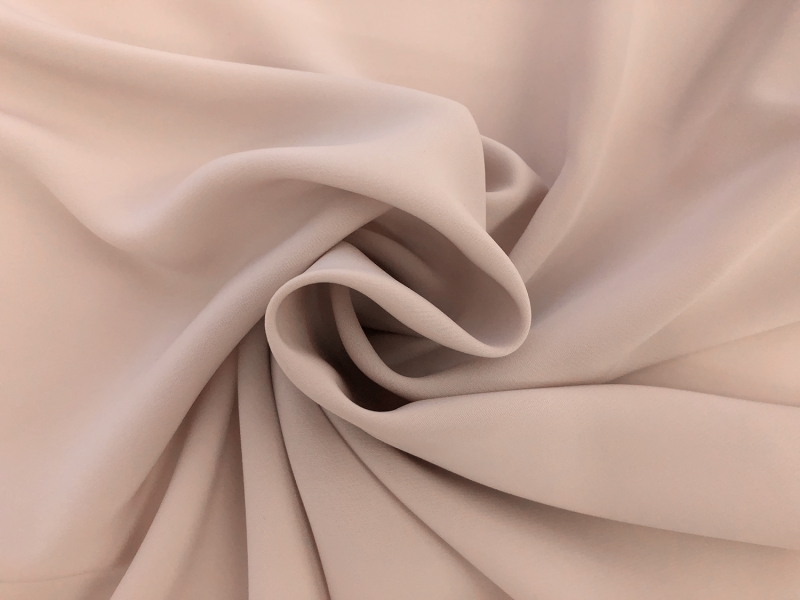 Polyester Powder Crepe De Chine in Khaki1