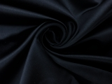 Italian Silk Duchesse Satin in Dark Navy0