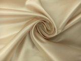 Italian Silk Duchesse Satin in Sand 0