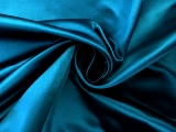Italian Silk Duchesse Satin in Teal0