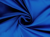 Italian Silk Duchesse Satin in Dark Cobalt0